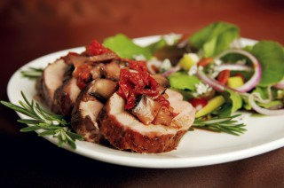 Pork Tenderloin With Sun-Dried Tomatoes