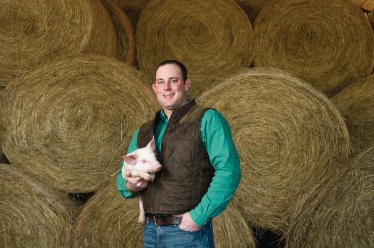 Hog Farmer Brandon Whitt