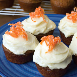 Carrot Cake Cupcakes recipe