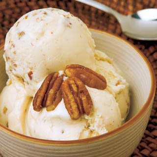 Homemade Butter Pecan Ice Cream recipe