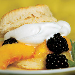 Peach-Blackberry Shortcakes recipe