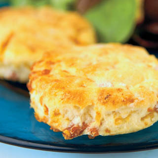 Country Ham and Cheese Biscuits recipe