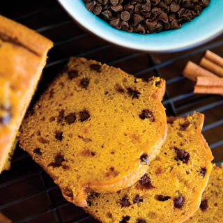 Pumpkin Chocolate Chip Bread recipe