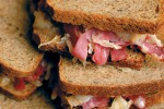 Oven-baked mini reubens