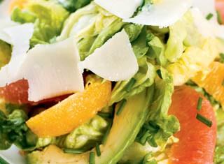 Mixed Citrus and Avocado Salad With White Balsamic Vinaigrette recipe