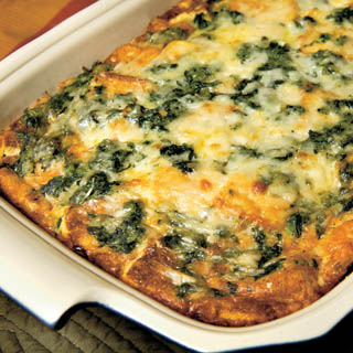 Christmas morning breakfast recipes farm flavor breakfast strata with spinach and swiss cheese recipe forumfinder Choice Image