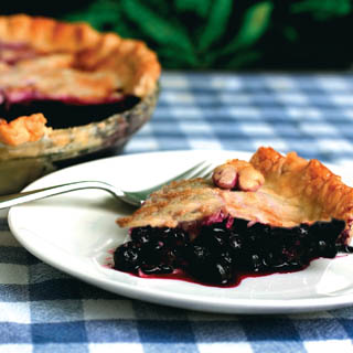 Bunker Hill Blueberry Pie recipe
