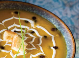 Squash and Black Bean Soup recipe