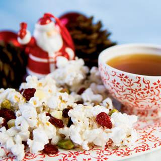 Christmas Candy Popcorn recipe
