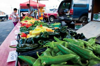 Farmers Markets - peppers