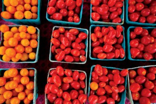 Farmers Markets - tomatoes