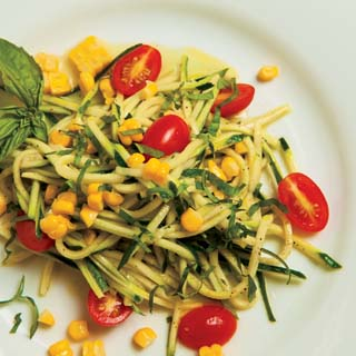 Zucchini, Corn and Tomato Salad Recipe