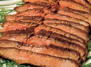 Ginger-Soy Flank Steak