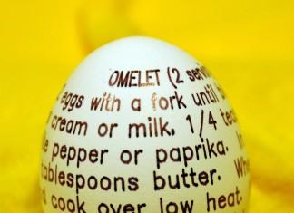 Omelet recipe on egg