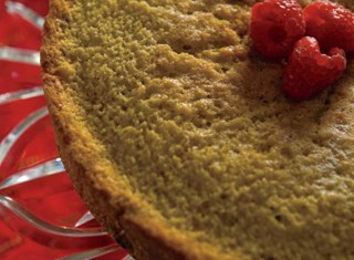 Berry Cornmeal Cake recipe