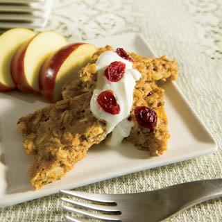 Oven-Baked Apple Walnut Pancakes