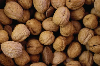 Walnuts before toasting