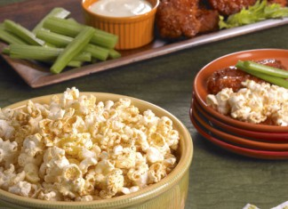 Blazing Buffalo Ranch Popcorn Recipe