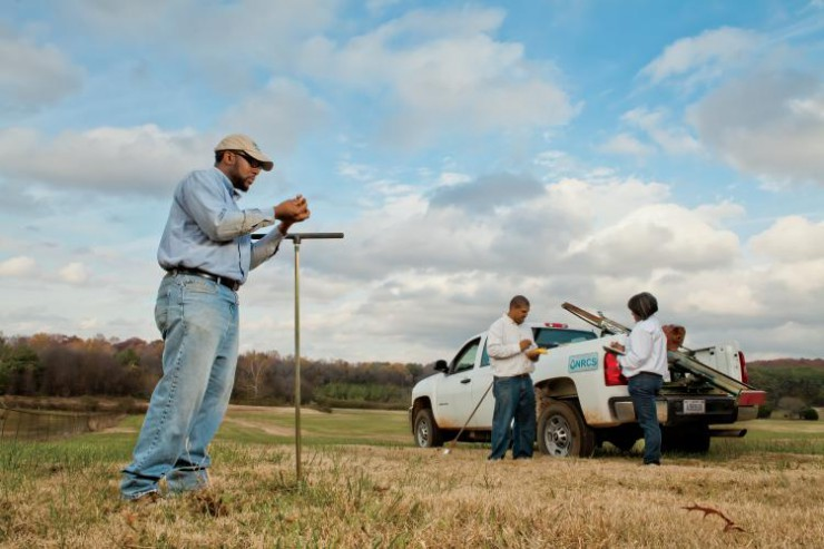 First Generation Soil Survey in Alabama