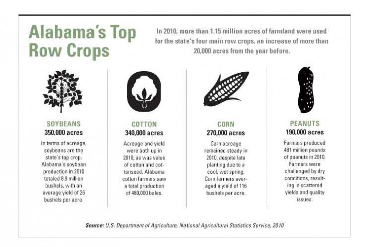 Alabama Row Crops