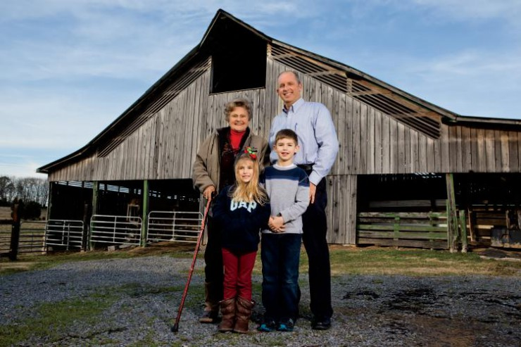 Rolling Acres Farm in Hawkins County, Tennessee has been in Lucille Ryan's family for seven generations.