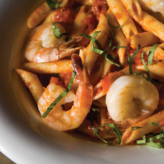 Shrimp and Fresh Tomato Pasta Recipe