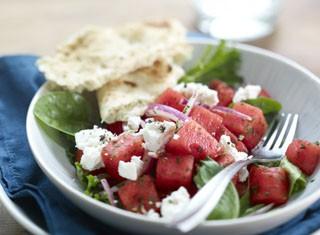 Mediterranean Watermelon Salad Recipe