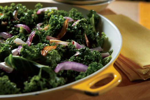 Sauteed Kale with Garlic – For a new twist on a greens side dish ...