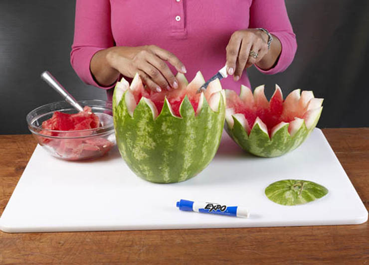 How to Make a Watermelon Bowl | Farm Flavor