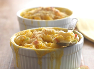 Apple Cheddar Macaroni and Cheese Recipe