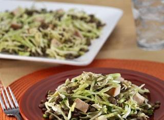 Oriental Chicken Salad with Lentils Recipe