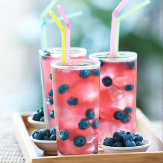 Pink Blueberry Lemonade Recipe