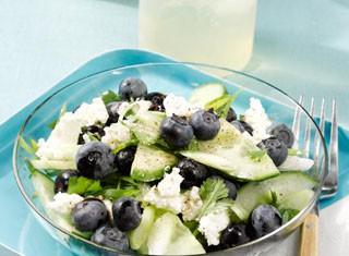 Blueberry Cucumber Salad Recipe