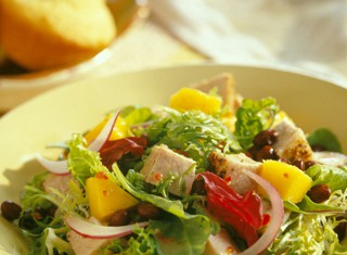 Caribbean Pork and Mango Salad Recipe