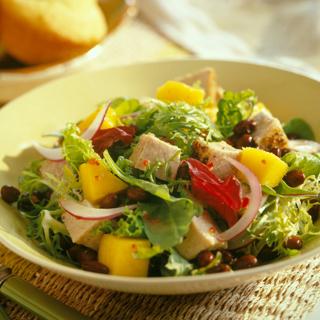 Caribbean Pork and Mango Salad Recipe