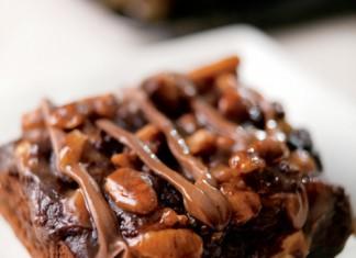 Chocolate Caramel Turtle Brownies Recipe