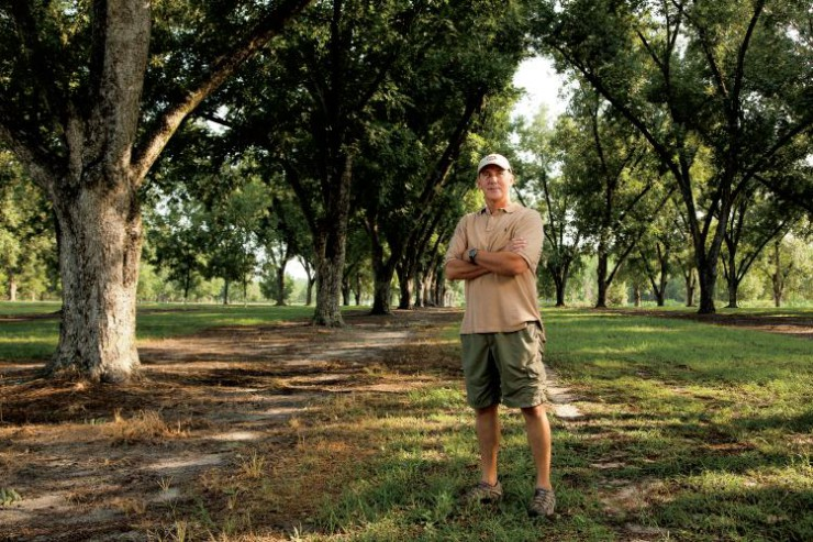 Georgia Pecan Farmer Greg Leger