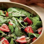 Summer Spinach Salad Recipe