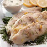 Broiled Catfish with Mustard-Dill Sauce Recipe