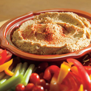 Hot Wings Hummus
