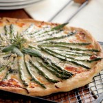 Asparagus Pizza Bianca Recipe