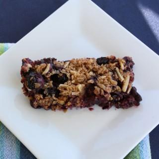Georgia Blueberry Granola Bars Recipe