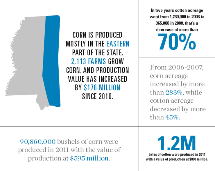 Mississippi Corn and Cotton