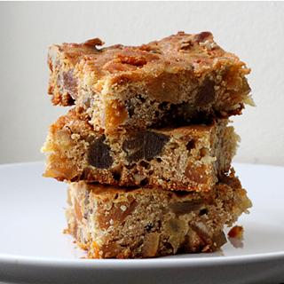 Fruitcake Bars from What's On My Plate