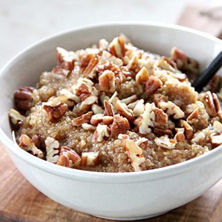 Maple Pecan Quinoa Porridge