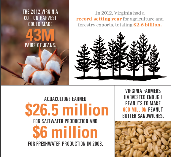 Virginia Agriculture Overview