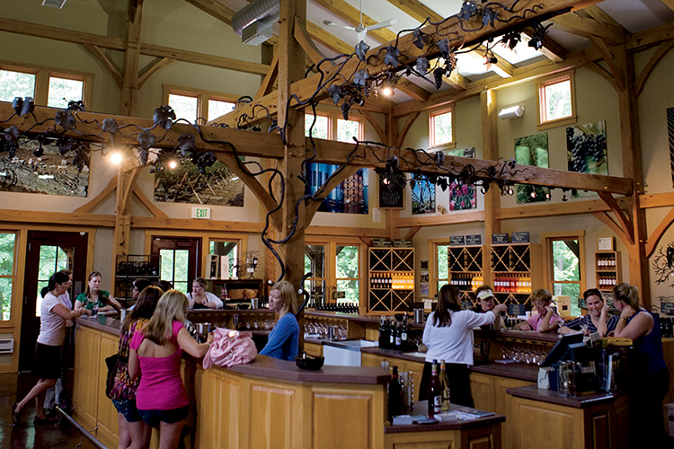 Oliver Winery in Bloomington Indiana