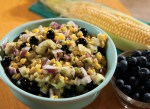 Blueberry Corn Salad with Honey Lime Dressing
