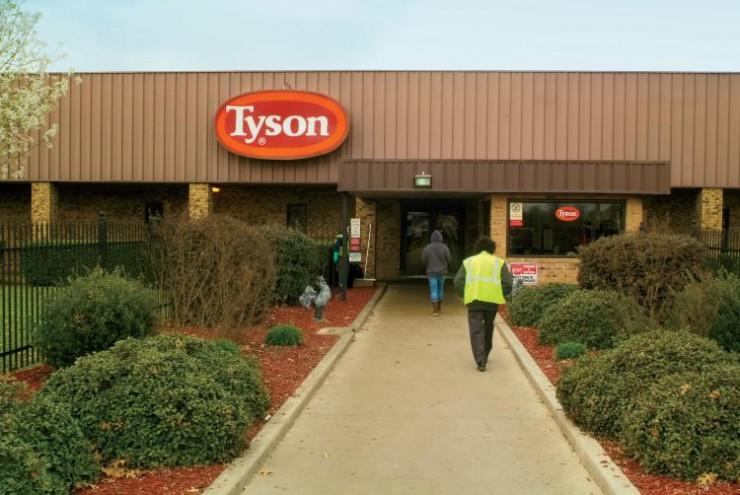 Oklahoma Tyson Plant
