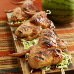 Watermelon Chipotle Maple-Glazed Wings